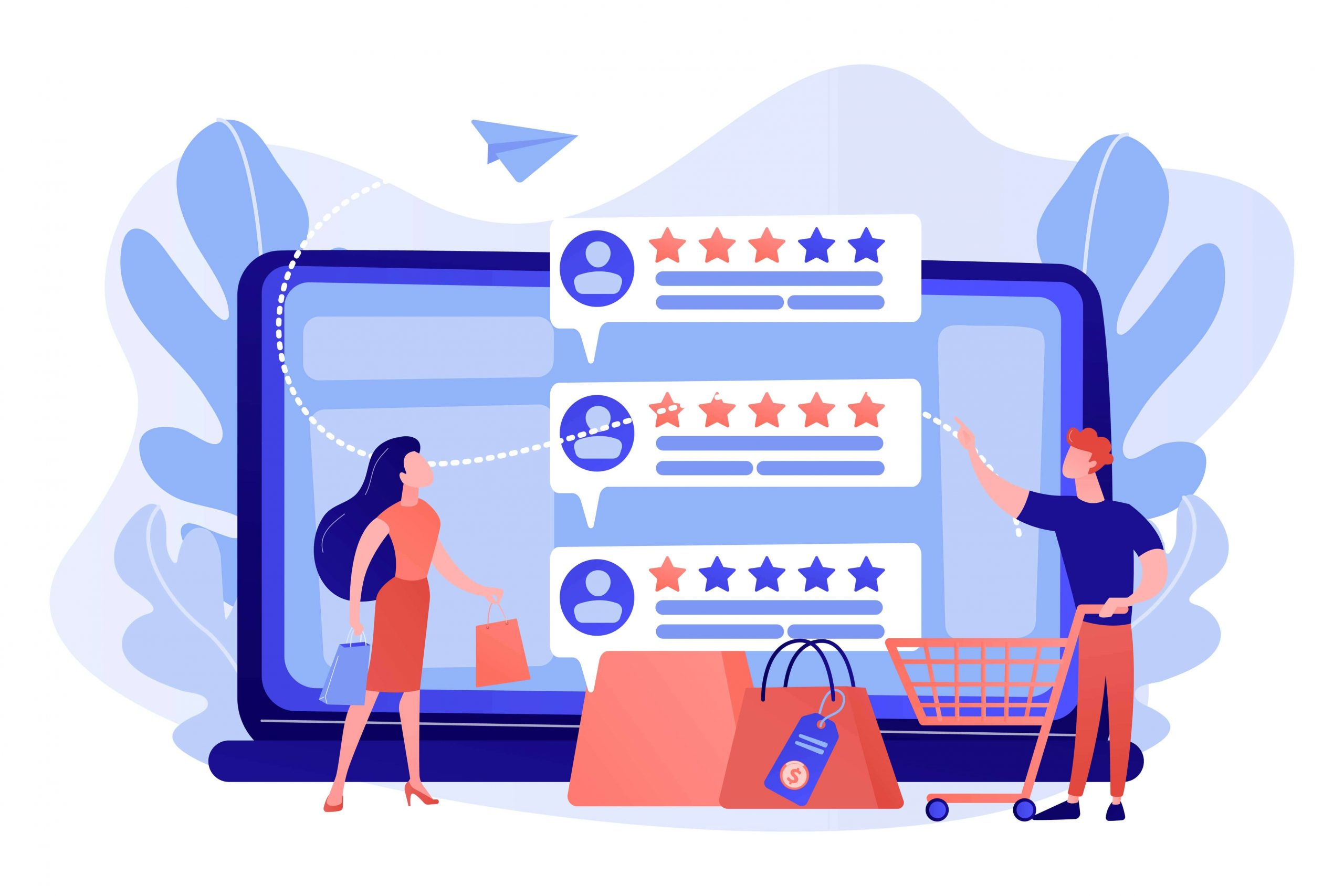 tiny people customers rating online with reputation system program
